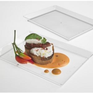 Vassoi trasparenti ristoranti