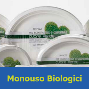 Monouso biologici (Self-Service)